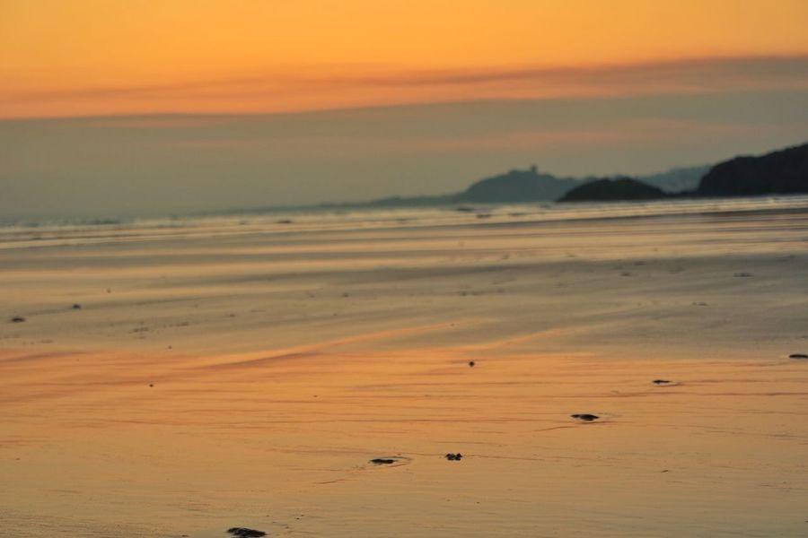 Blac Rock Sands North Wales North Wales Coast Snowdonia Wales Beach Sunset Sand Criccieth Castle Morfa Bychan N.wales Porthmadog