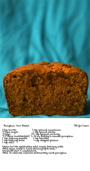 Recipe ing]uPumpkin Nut Bread aFood bRecipes uFall n nPumpkinbread dPumpkin s fall Holidays Holiday Baking