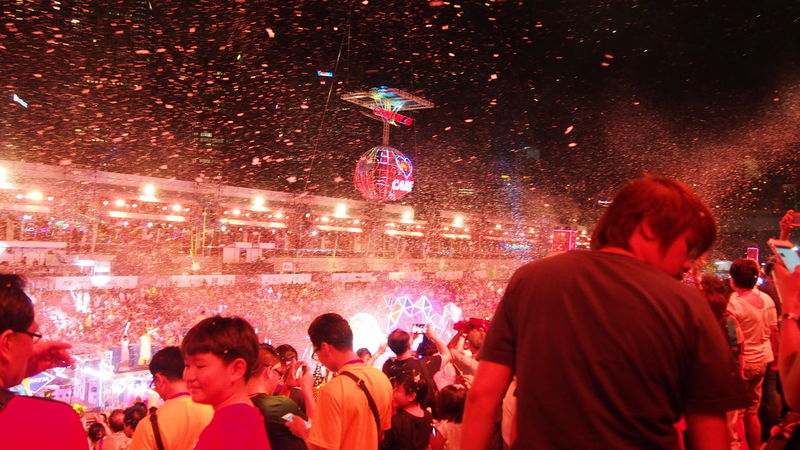 Adult Carnival Celebration Chingay Chingay2017 City Gate Crowd Festival Large Group Of People Men Night People Singapore Carnival Crowds And Details