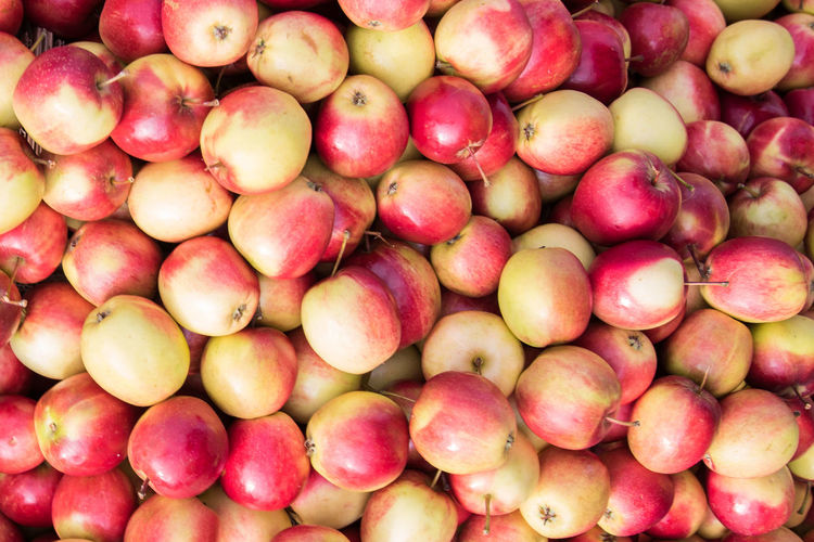 Apple Abundance Backgrounds Close-up Day Food Food And Drink Freshness Fruit Full Frame Healthy Eating Large Group Of Objects No People Outdoors Retail  Food Stories