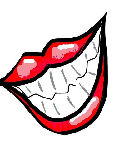 Lips Teeth Digitalart  DrawSomething Grin