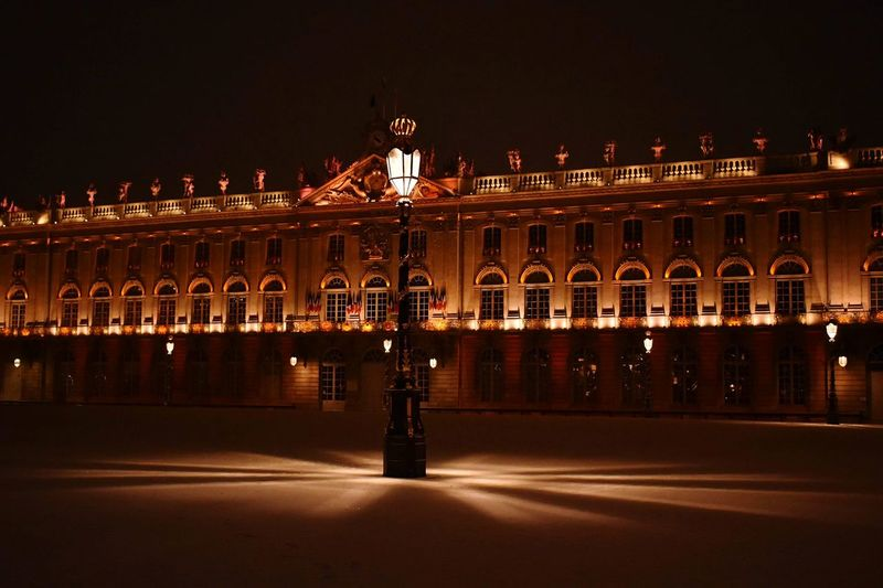 Place Stanislas, NANCY 🇫🇷 Night Winter Place Stan' Light And Shadow Night Architecture Illuminated Built Structure Building Exterior Travel Destinations Nature City History Travel No People Sculpture Outdoors