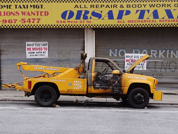 The last drive Car NYC Street Photography NYC Manhattan Text Transportation Day Outdoors City No People