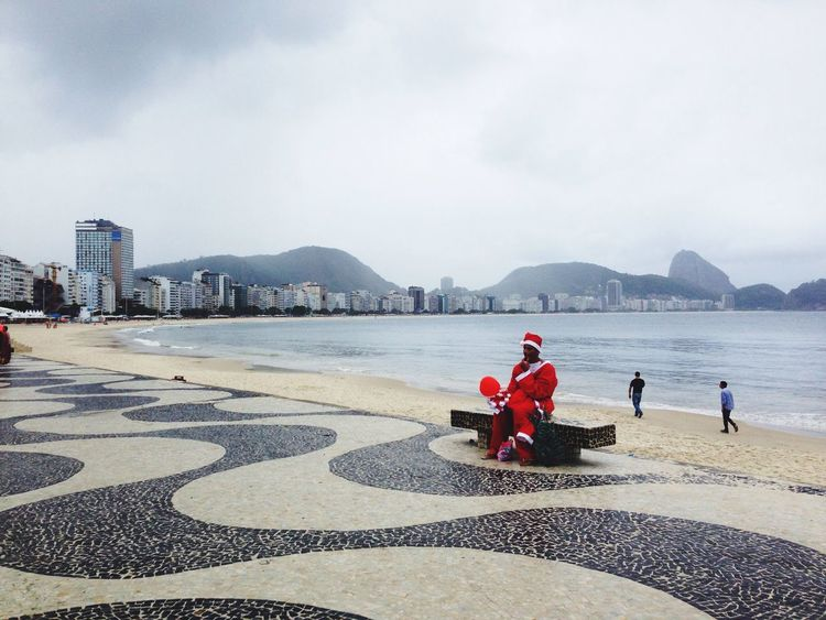 Ipanema Santaclaus Merry Christmas! Beach