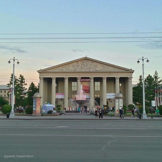 20140612 , Кемерово . Кемеровский областной Театр драмы/ Kemerovo. Kemerovsky Regional Drama Theatre.