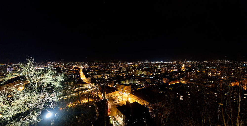 Night panoramic view of Ljubljana from Ljubljana Castle, Slovenia. Modern city at night City At Night Ljubljana Ljubljana, Slovenia Night Lights Night Ljubljana Night Photography Nightphotography Panorama Panoramic Panoramic View Slovenia Architecture Building Exterior Built Structure City Cityscape Illuminated Night No People Outdoors Travel Destinations