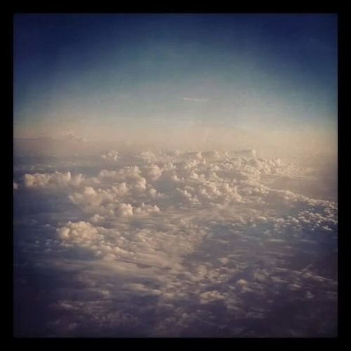 Up Above The World So High Cloudscape