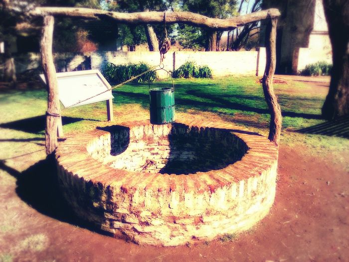 Playground Day Outdoors No People Pozo  Pozodeagua Aljibe Colonial COLONIAL TIMES