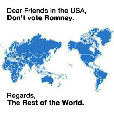 Vote Obama _NOT_ Romney USA