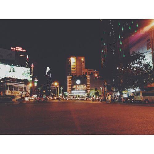 Sài Gòn Đêm Nightlife Vscocam EyeEm Best Shots Saigon