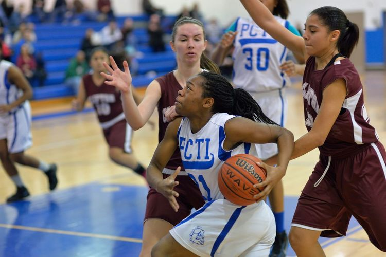 Under pressure Lady Bulldogs Basketball pcti vs clifton mustangs GirlsBasketball