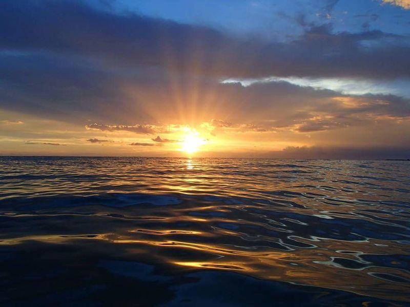Sarasota Florida Lido Beach Gulf Of Mexico Sunset Beachphotography Calm Water