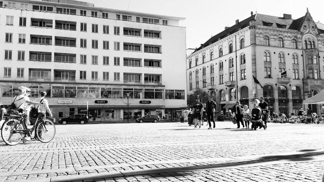 Black And White City Malmö, Sweden Sunnyday Amatuerphotography Amaturephotographer Samsung S4