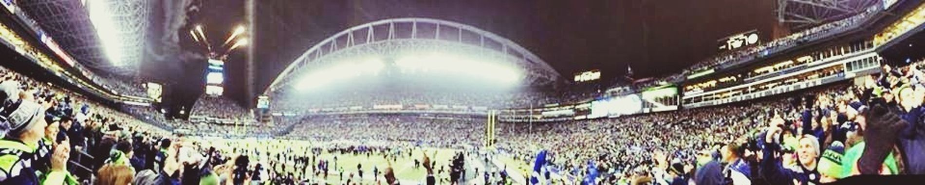 Another from another friend. My edit. Really cool. Enjoying Life Seattle Football Lovelovelove