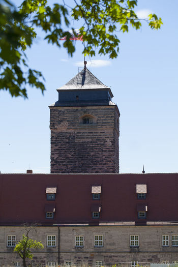 Festung Rosenberg Architecture Belief Building Building Exterior Built Structure City Clear Sky Day History Low Angle View Nature No People Outdoors Place Of Worship Plant Roof Sky Spire  Tower Tree Window