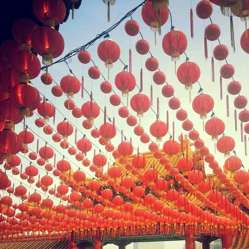 Chinese New Year 2014 Temple Lanterns