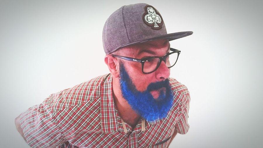 Beard Blue Barba Azul Lumberjack Macho Alpha Boituva Brazil 40 Years Old Beard Sexyman