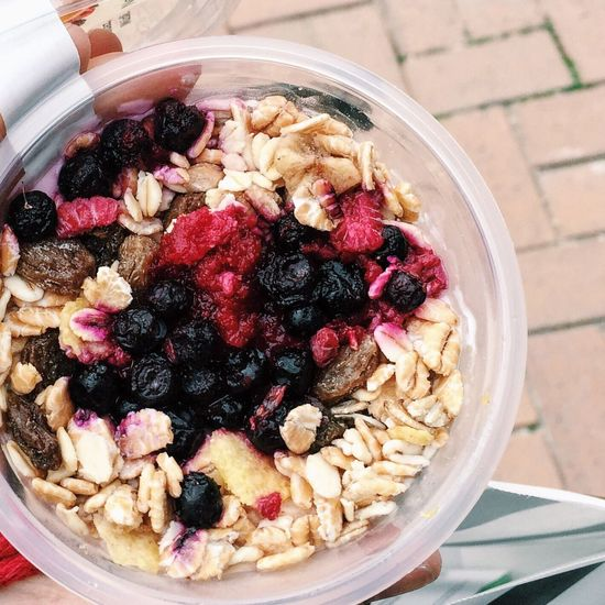 Bowl Healthy Eating Food Food And Drink Freshness Fruit Breakfast Close-up No People Serving Size Indoors  Ready-to-eat Granola Day