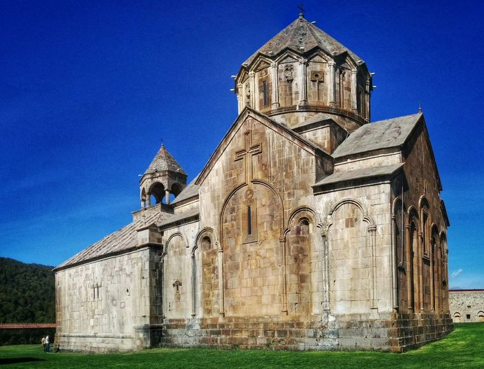 Gandzasar monastery in Nagorno-Karabakh Azerbaijan Gandzasar Monastery Karabax Gandzasar Nagorno Karabakh Armenia Armenian Republic Travel Sightseeing Landmark Building Kaukasus Caucasus Church Religion Architecture Place Of Worship Spirituality Travel Destinations Clear Sky History