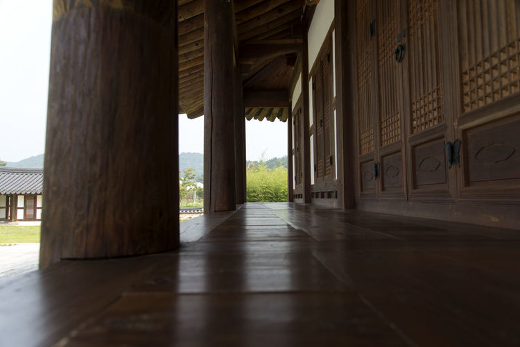 Juknokwon, the famous bamboo park in Damyang, Jeonnam, South Korea Damyang Juknokwon Architectural Column Architecture Built Structure Day Indoors  Nature No People
