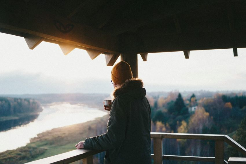 One Person Indoors  Window Adult Adults Only Only Women One Woman Only Nature People Day Real People Architecture Beauty In Nature Water Sky Young Adult