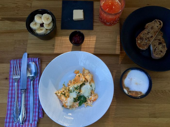 b r e a k f a s t | s u n d a y Food And Drink Indoors  Food Plate Ready-to-eat Serving Size Non-alcoholic Beverage Served Food Styling First Eyeem Photo