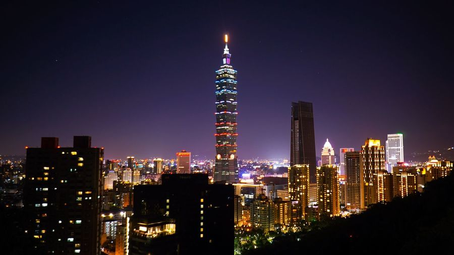 Taiwan Taipei,Taiwan Taipei Taipei 101 Taiwan Photographer ASIA Elephant Mountain Skyscraper Architecture City Cityscape Modern Tower Downtown District Travel Destinations No People Urban Skyline Outdoors City Life Landscape Night Illuminated Travel Nightphotography Night Lights