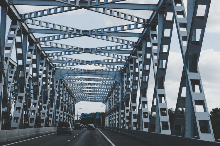 Netherlands Architecture Bridge - Man Made Structure Built Structure Car Day No People On The Road Outdoors Road The Way Forward Transportation Your Ticket To Europe