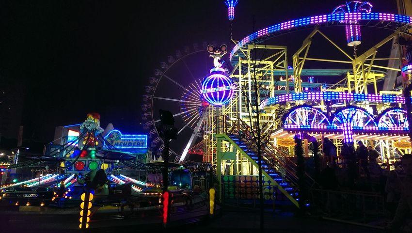 Xmas meets amusement park!