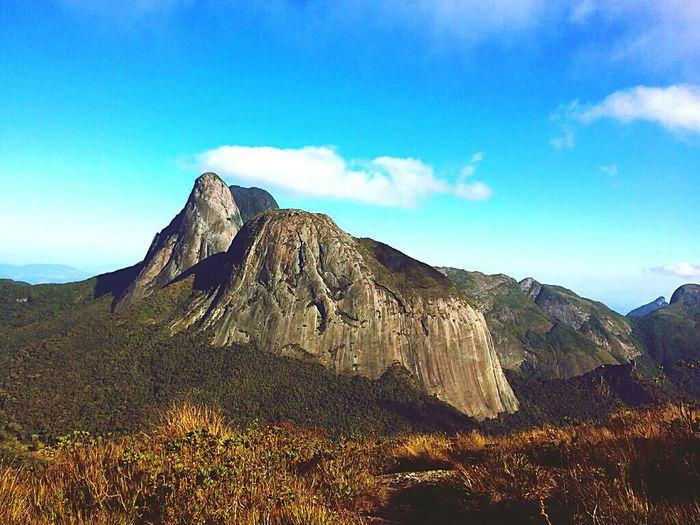 Beautiful mountain Climbing Camping
