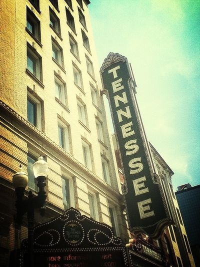 Tennessee theatre- downtown Knoxville