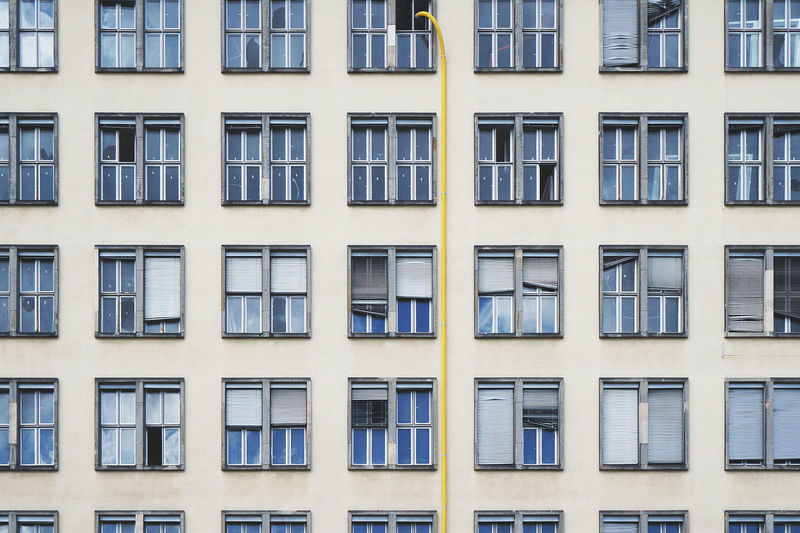 Apartment Architecture Berlin Building Building Exterior Built Structure City City Life Day Facades Façade Full Frame Germany No People Outdoors Repetition Residential Building Window The Architect - 2016 EyeEm Awards Capture Berlin Neighborhood Map