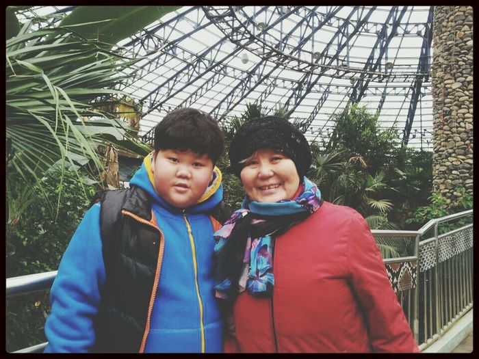Familyportrait Trip In Seoul Babybrother and ❤ My GrandMother ❤ First Eyeem Photo