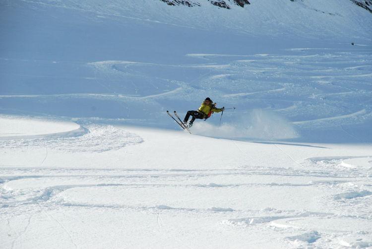 Adventure Cold Temperature Day Hoher Tenn Leisure Activity Motion Mountain One Person Outdoors People Powder Snow Real People Schmalzgrubenkar Ski Holiday Ski Track Ski-wear Skiing Snow Sport Travel Winter Winter Sport Zwingkopf