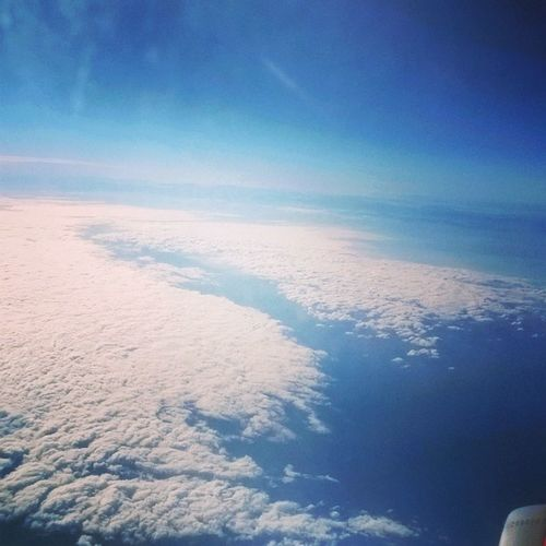 Nuvole Cielo Aereo Clouds Mare Sea Sky Flight Volo Window Finestrino