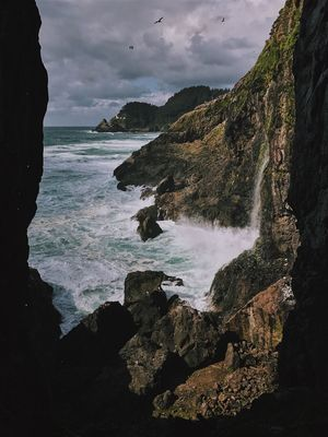 Nature Water Beauty In Nature Sea Sky Outdoors Wave Scenics Mountain Been There.