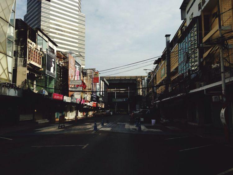 Quiet Siam Siam Square Rama 1 Siam Soi Siam Morning Quiet Moment Bangkok 9:00