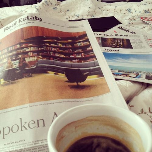 Good Morning! #StartOfTheDay #NYT #Coffee Nyt Startoftheday Coffee