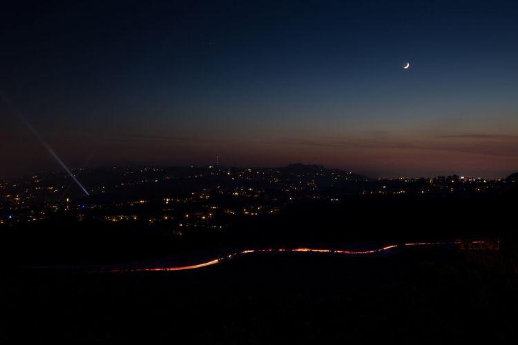 Night Sky City