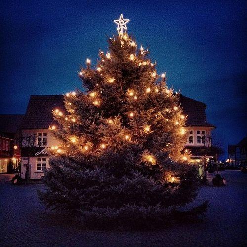 #weihnachten in #Hitzacker an der #Elbe / #Jeetzel. Weihnachten Elbe Hitzacker Jeetzel