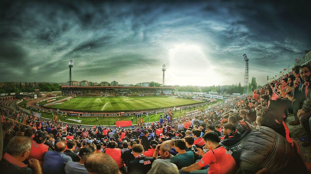 Eskişehirspor Stadium Fans Legend Football Club Football Stadium