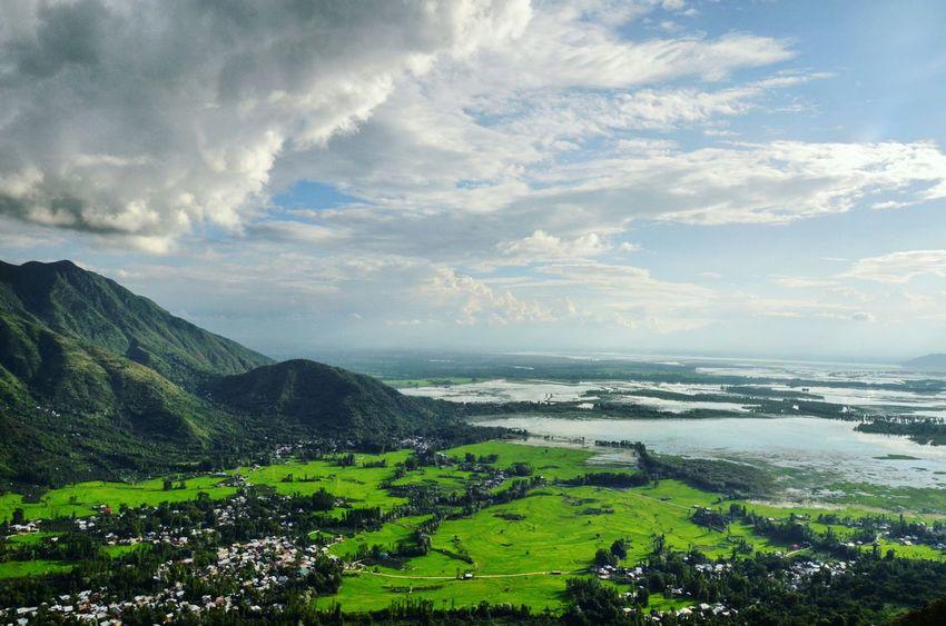 Aerial View Of Wular Lake And Bandipora Natgeo IPhotographKashmir IExploreKashmir Revoshotsphotography Revoshots Kashmir Kashmirphotographers Kashmirdiaries Landascape