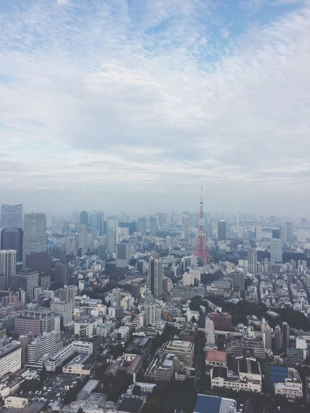 City Cityscape Building Exterior Architecture Skyscraper Built Structure Urban Skyline Travel Destinations Crowded Outdoors Sky Tower Aerial View Modern Downtown District Day City Life Downtown Japan 東京 東京タワー