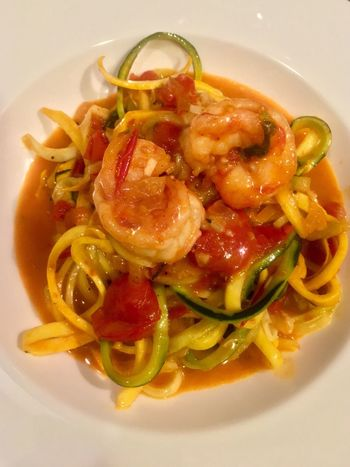 Food Healthy Eating Vegetable Dinner Zoodles Cherry Tomatoes Tomato Lavidaloca Zucchini Cooking