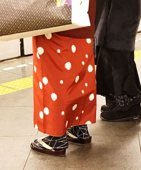 Low Section Shoe Standing Human Leg Real People Sock Geta Human Body Part Traditional Clothing Japanese Culture Japan Photography Japanese Style EyeEmJapan Tokyo Streetphotography Two People Close-up Day Men Women People Canvas Shoe Only Men Adults Only Adult