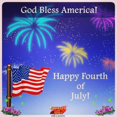 Happy 4th of July folks! May Jesus bless you.