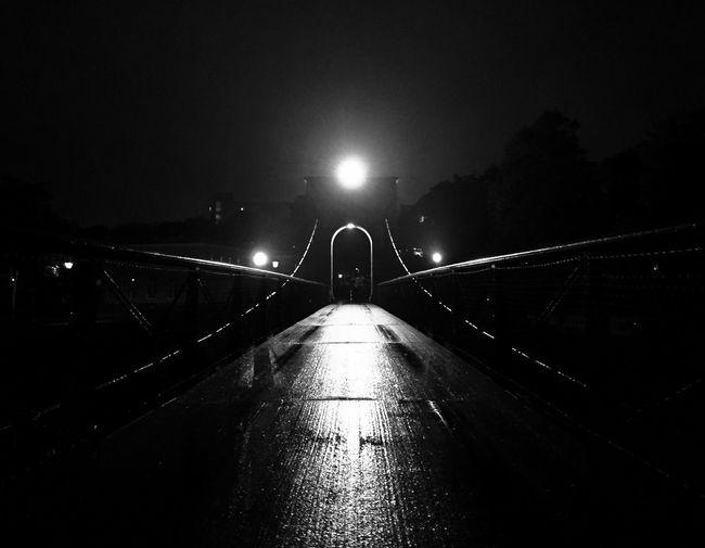Night Bridge Lightinthedark Dark Darkness And Light EyeEmNewHere Art Blackandwhite No People City