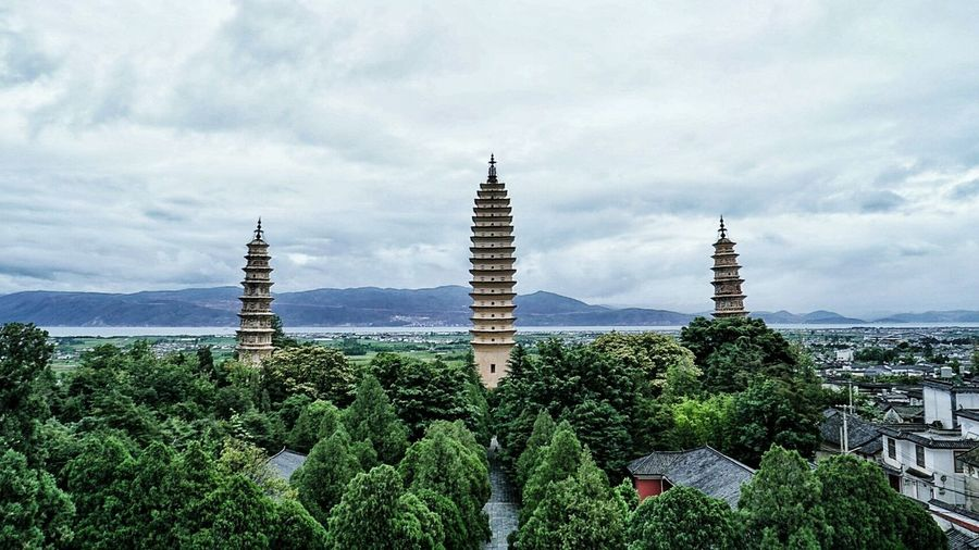 Chongsheng Three Pagodas Three Pagodas Chongsheng Temple Dali Yunnan ASIA China Yunnan Dalí EyeEm China Been There.