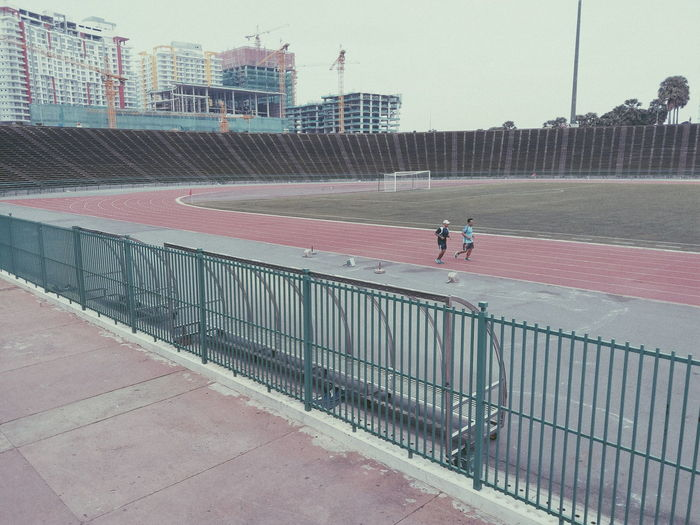 People Outdoors Real People Architecture Sport Working Out Old Stadium Sportsman Full Length Getting Inspired Inspirational Childhood Leisure Activity Cinematic Creativity Khmer Enjoyment Freshness Dramatic Day Capture The Moment Freedom Live For The Story Lifestyles City