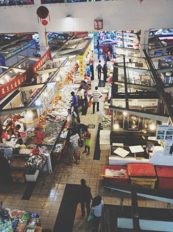 Little India Wet Market Singapore